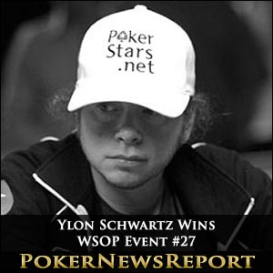 Ylon Schwartz Sheds 'Nearly Man' Tag With WSOP Event #27 Win