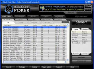 The Lobby at Black Chip Poker