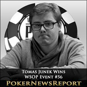 Tomas Junek Takes Down WSOP Event #56