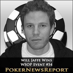 Will Jaffe Wins WSOP Event #54