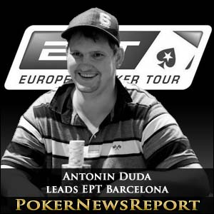 Antonin Duda leads Charge towards EPT Barcelona Final Table