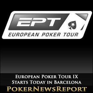 European Poker Tour IX Starts Today in Barcelona