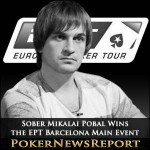 Sober Mikalai Pobal Wins the EPT Barcelona Main Event