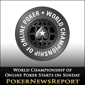 World Championship of Online Poker Starts on Sunday