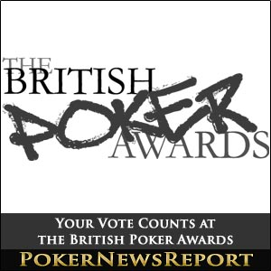 Your Vote Counts at the British Poker Awards