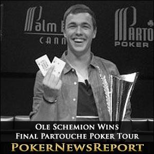 Ole Schemion Wins Final Partouche Poker Tour