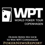 Olsson Rides His Luck to Win WPT Copenhagen