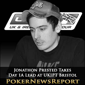 Jonathon Prested Takes Day 1A Lead at UKIPT Bristol