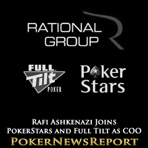 Rafi Ashkenazi Joins PokerStars and Full Tilt as COO