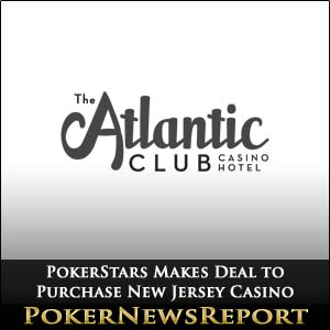 PokerStars Makes Deal to Purchase New Jersey Casino