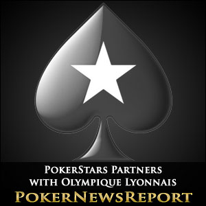 PokerStars Partners with Olympique Lyonnais