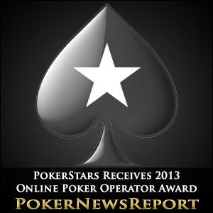 PokerStars Receives 2013 Online Poker Operator Award