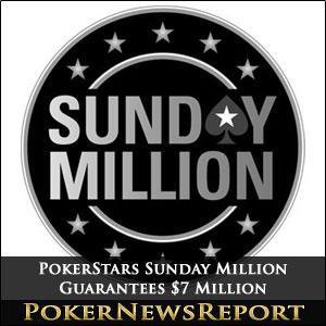 PokerStars Sunday Million $7 Million Guaranteed