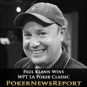 Paul Klann Wins WPT LA Poker Classic