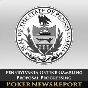 Pennsylvania Online Gambling Proposal Progressing