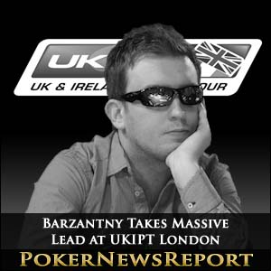 Barzantny Takes Massive Lead at UKIPT London