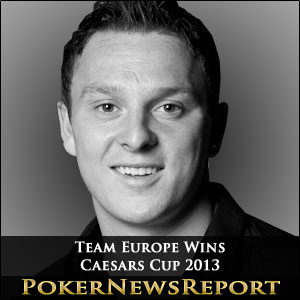 Team Europe Wins Caesars Cup 2013