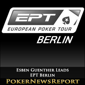 Esben Guenther Leads EPT Berlin