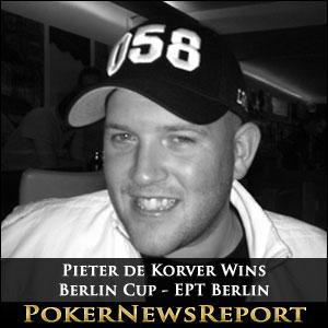 Pieter de Korver Wins Berlin Cup