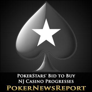 PokerStars' Bid to Buy NJ Casino Progresses