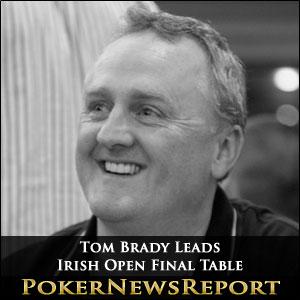 Tom Brady Leads Irish Open Final Table