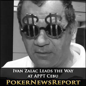 Ivan Zalac Leads the Way at APPT Cebu