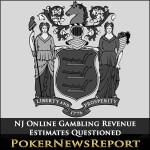 NJ Online Gambling Revenue Estimates Questioned
