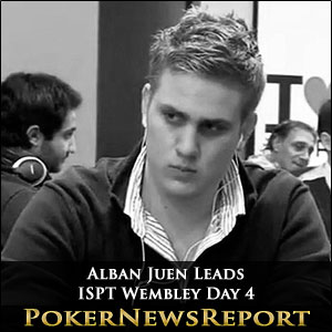 Alban Juen Leads ISPT Wembley Day 4