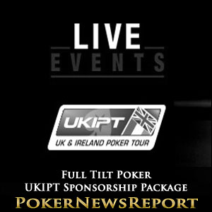 Full Tilt Poker Offers UKIPT Sponsorship Package