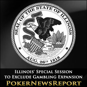 Illinois' Special Session to Exclude Gambling Expansion