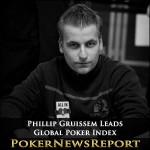 Phillip Gruissem Leads Global Poker Index