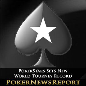 PokerStars Sets New World Tourney Record