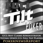 GCG Best Claims Administrator Voting Upsets U.S. Full Tilt Players