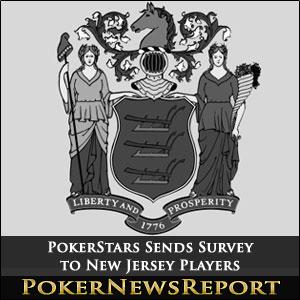 PokerStars Sends Survey to New Jersey Players