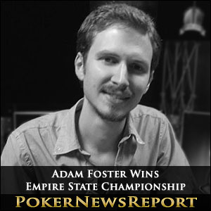 Adam Foster Wins Empire State Championship Main Event