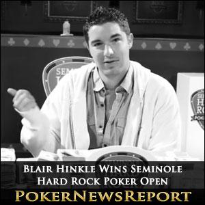 Hinkle Makes Historic Comeback, Wins Seminole Hard Rock Poker Open