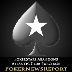 PokerStars Abandons Atlantic Club Purchase