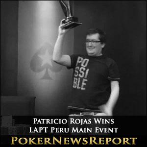 Patricio Rojas Wins LAPT Peru Main Event
