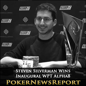 Steven Silverman Wins Inaugural WPT Alpha8