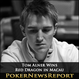 Tom Alner Wins Red Dragon in Macau