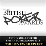 Voting Opens for the British Poker Awards 2013