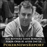 Hal Rotholz Leads Borgata Poker Open #1 after Day 1A