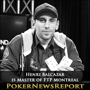 Henri Balcazar is Master of FTP Montreal