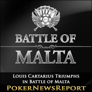 Louis Cartarius Triumphs in Battle of Malta