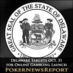Delaware Targets Oct. 31 for Online Gambling Launch