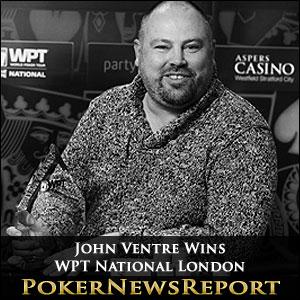 John Ventre Wins WPT National London