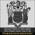Online Poker in New Jersey Gets Green Light for 11/26