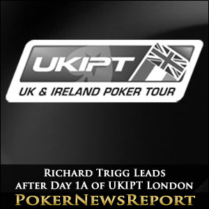 Richard Trigg Leads after Day 1A of UKIPT London