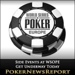 Side Events at WSOPE Get Underway Today
