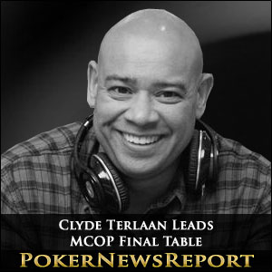Clyde Terlaan Leads MCOP Final Table